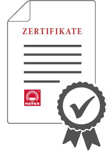 Mayer Zertifikate
